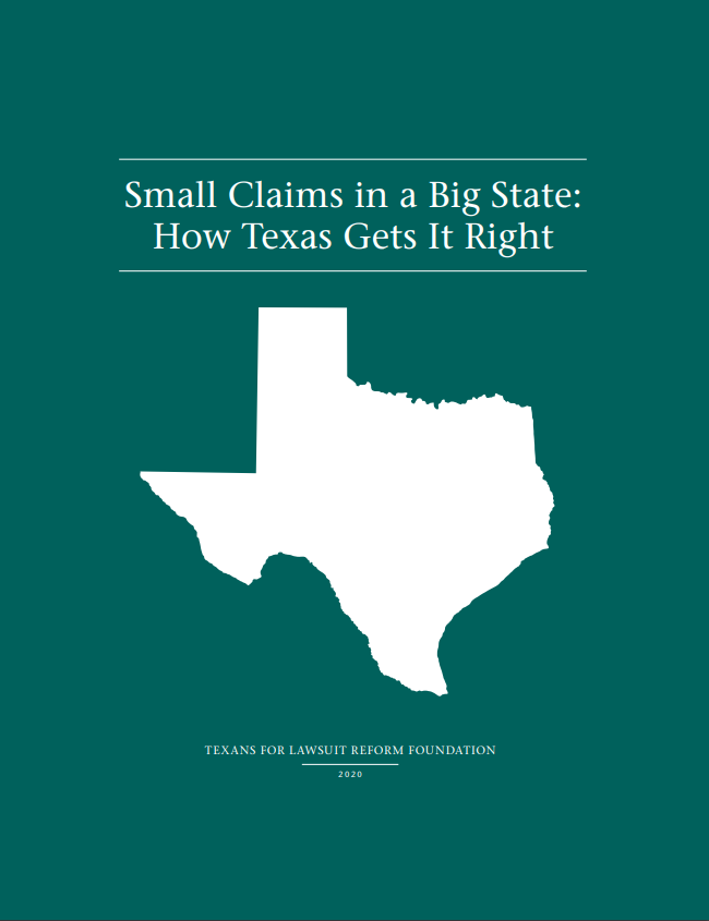 Small Claims in a Big State: How Texas Gets It Right